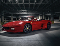 Ferrari 348 Spyder Photo Shoot