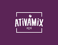 Identidade Visual | Açaí Ativamix