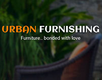 Urban furnishing IOS Application Landing and signin pag