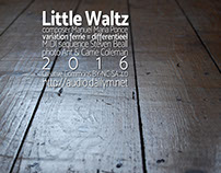 Little Waltz - cover for a new song