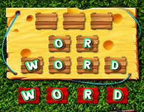 Word Picnic Game UI Design