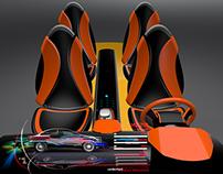 Car Interior concept -Alias,VRed