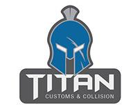 Titan Customs & Collision Logo