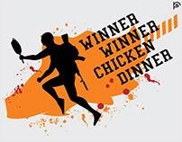 PUBG winner winner chicken dinner