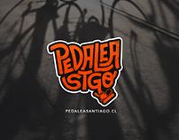 Pedalea Santiago - Logo