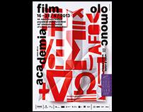 Academia Film Olomouc 48 visual identity