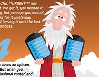 The Internet Commandments (Infusion Magazine, Dubai)