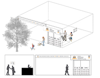 Prototype graphics for psychology center facilities