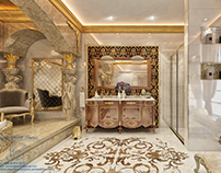 Classical bathroom design