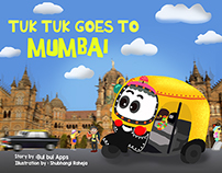 Tuk Tuk Goes to Mumbai