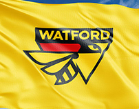 Official badge for Watford Football Club