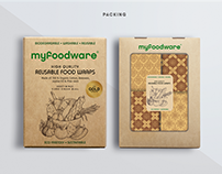 Food packaging design, food wraps box