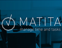 MATITA - manage time and tasks - wireframe & prototype