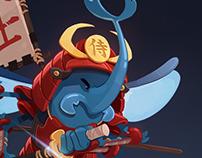 Samouraï Beetle