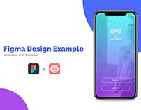Figma/Protopie Example