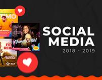 Social Media - 2018/2019