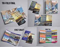 Tri-fold Brochure For Travel Company. (Evolution)