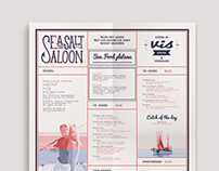 SEA SALT SALOON • brand identity
