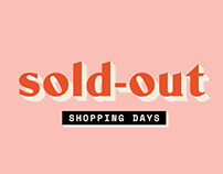 SOLD OUT SHOPPING DAYS
