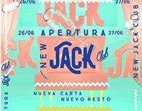 JACK CLUB POSTER  REAPERTURA