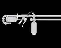 "Flamethrower From The Game ""LAST OF US"""