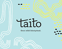 Taito - Brand design for Finnish craft organization