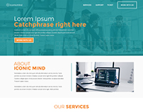 Iconic Mind Website Redesign