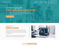 Iconic Mind Website Redesign