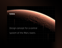 Design concept for a control system of the Mars rovers