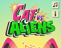 Cat Vs. Aliens