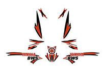 Yamaha BWS Sport decals kit concept
