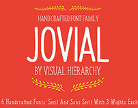 Jovial Handcrafted Font Family