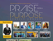 Praise with a Purpose Poster & Flyer