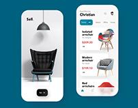 Furniture E-commerce App Design