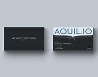 AQUIL.IO Identity Design