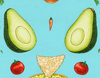 Avocado Mandala