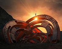 Vive Brand Imagery - Desert Rings