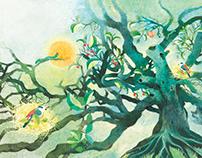 Morning/Children's book illustration