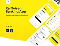 Raiffeisen Bank App Redesign