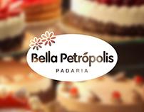 Criação de marca - Bella Petrópolis Padaria