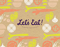 Let's Eat! Restaurant Identity
