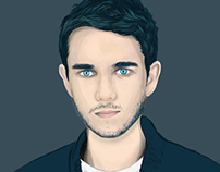 Zedd illustration.
