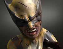 MARVEL - Wolverine - 3d Sculpt
