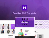 Hodor - EE One-Page PSD Template