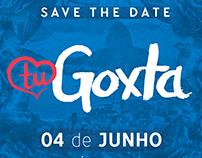 Logotipo para festa Tu Goxta