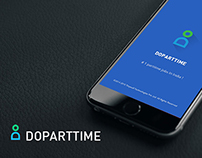 Doparttime Mobile Branding & UI/UX