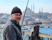 Crossing the bridge - ISTANBUL