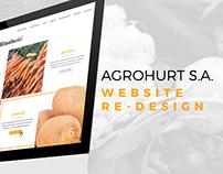 Agrohurt S.A - Web Design