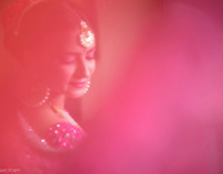 Bride's Beauty: Glances... Stealing Glances