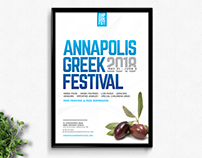 Annapolis Greek Festival Branding